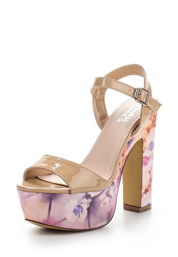 Босоножки Max Shoes LL1579-1 бежевые