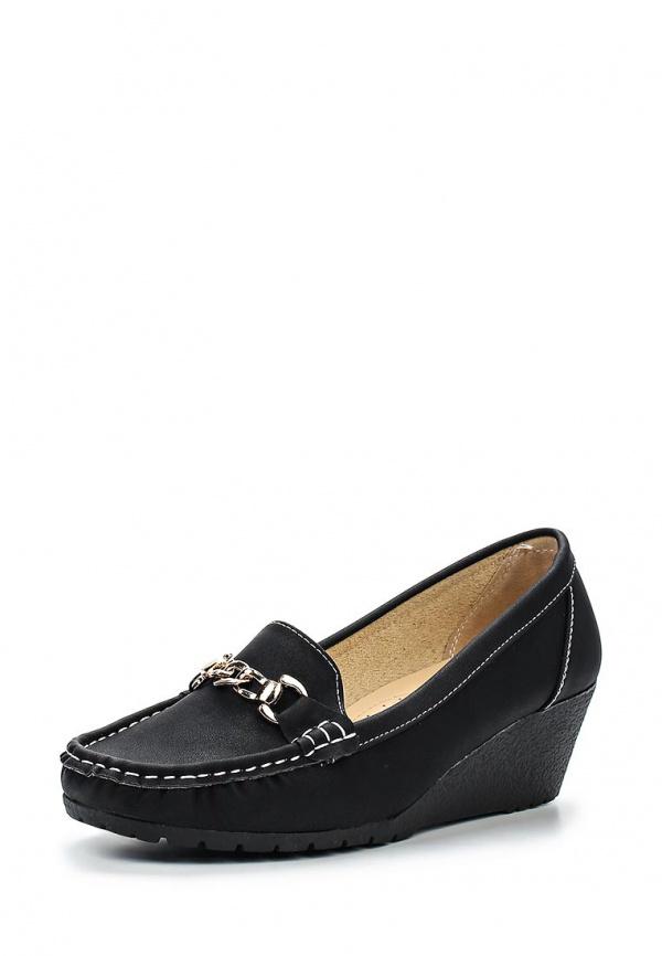 Лоферы Max Shoes 555-41 чёрные
