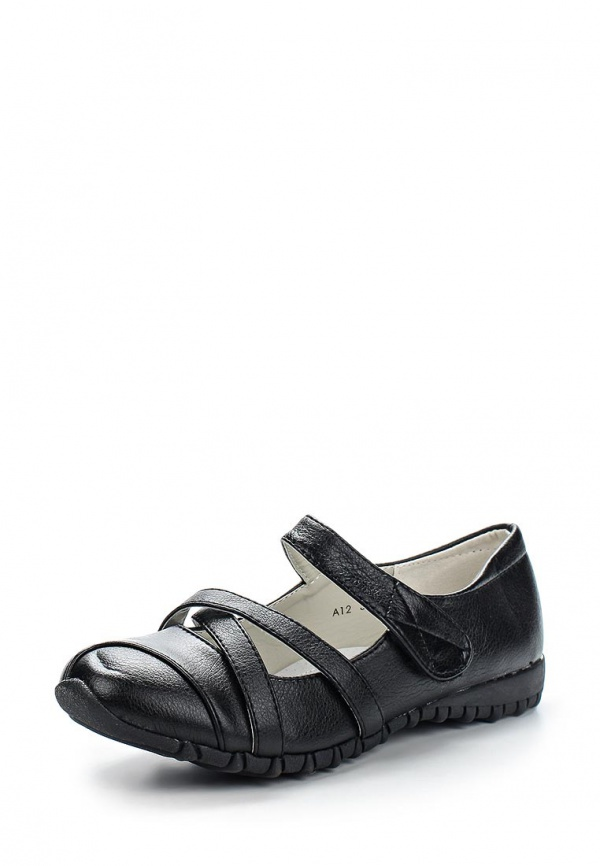 Туфли Max Shoes A12 чёрные