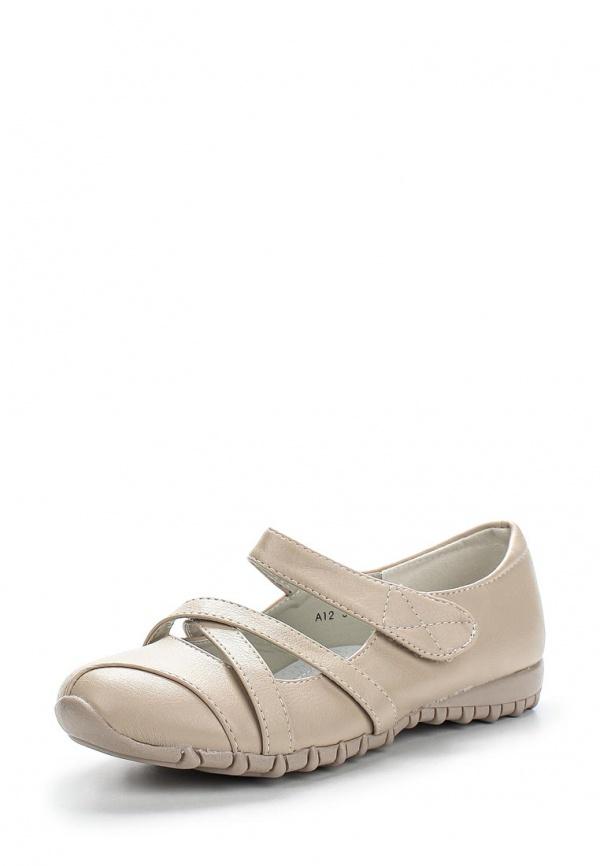 Туфли Max Shoes A12 бежевые