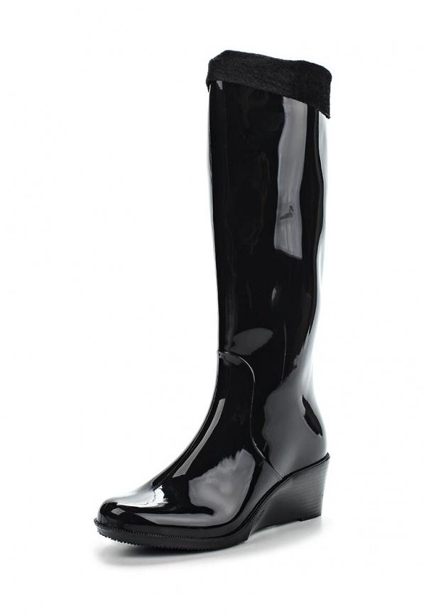 Резиновые сапоги Mon Ami 1513X208K-88 чёрные