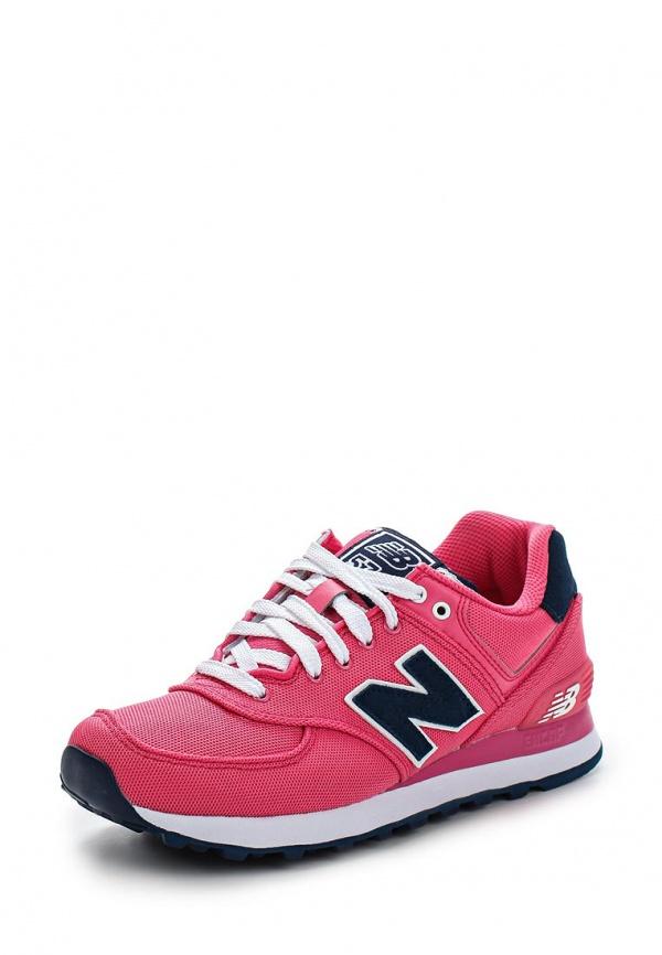 Кроссовки New Balance WL574POP розовые