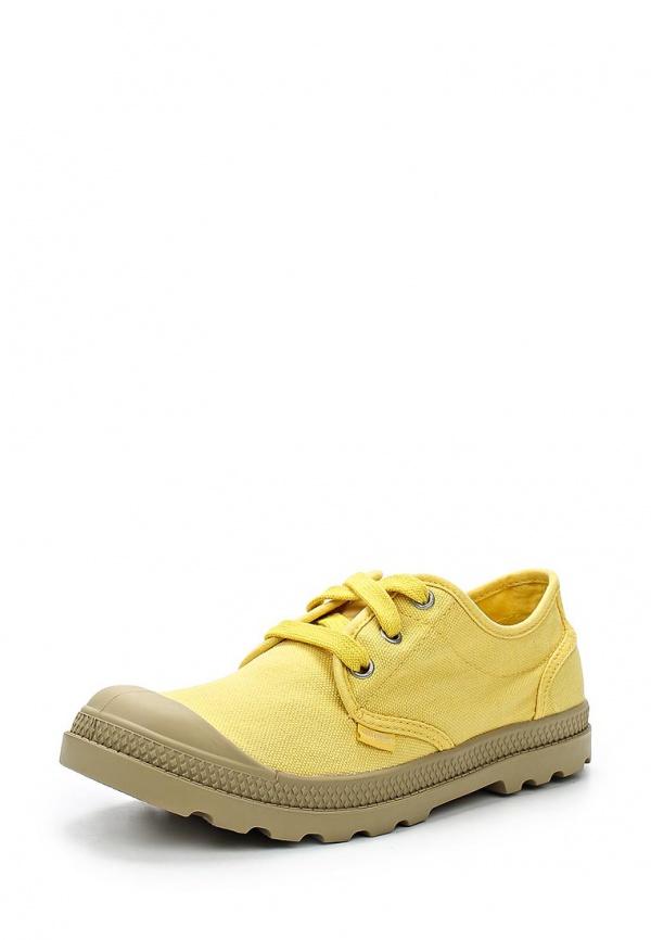 Кеды Palladium 93315 жёлтые