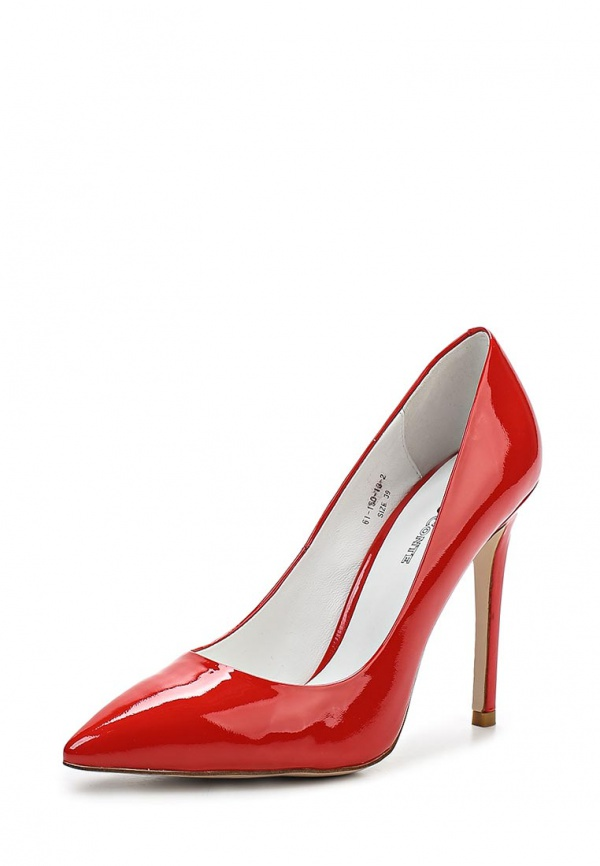 Туфли Paolo Conte 61-150-13-2 красные