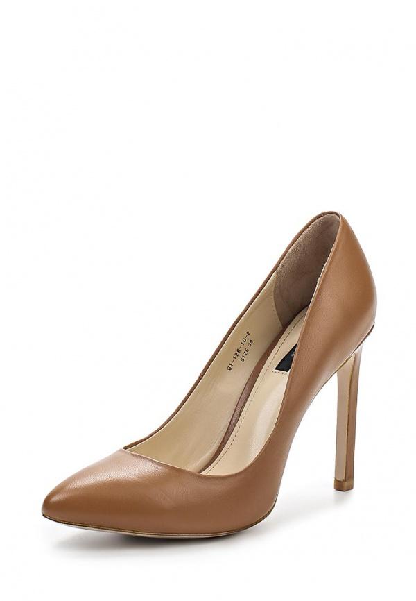 Туфли Paolo Conte 61-126-10-2 коричневые