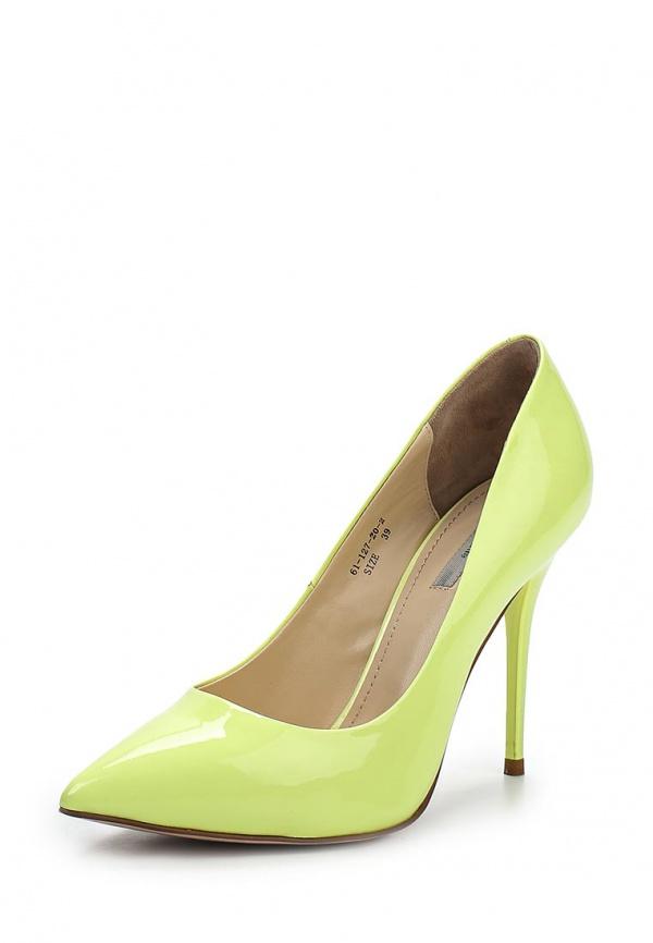 Туфли Paolo Conte 61-127-20-2 жёлтые