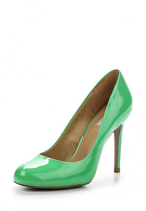 Туфли Paolo Conte 61-131-15-2 зеленые