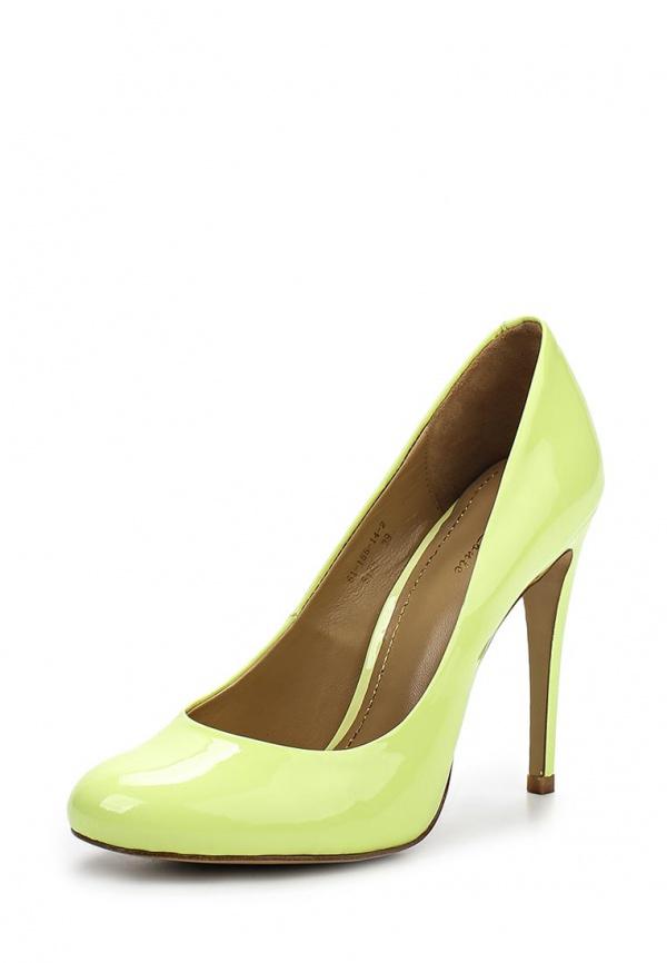 Туфли Paolo Conte 61-155-14-2 жёлтые
