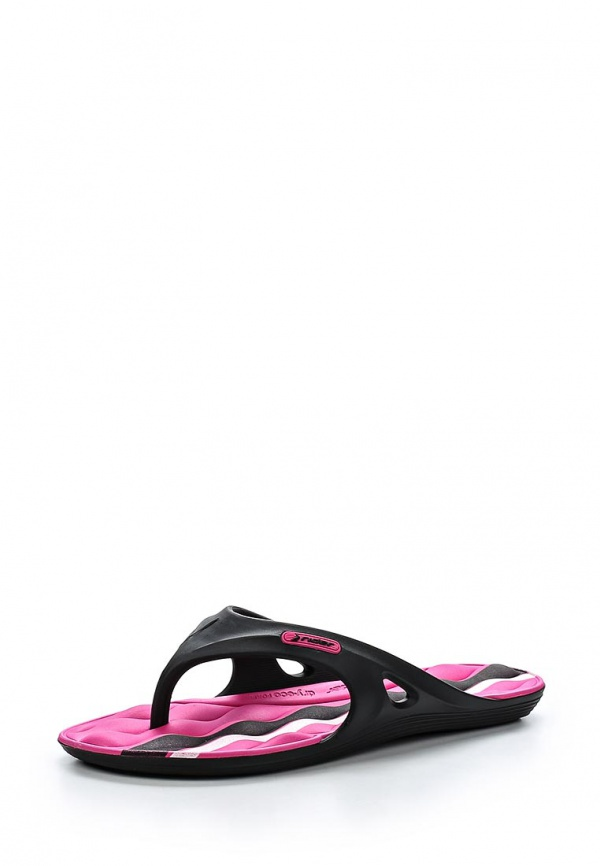 Сланцы Rider 81413-20753-A розовые, чёрные