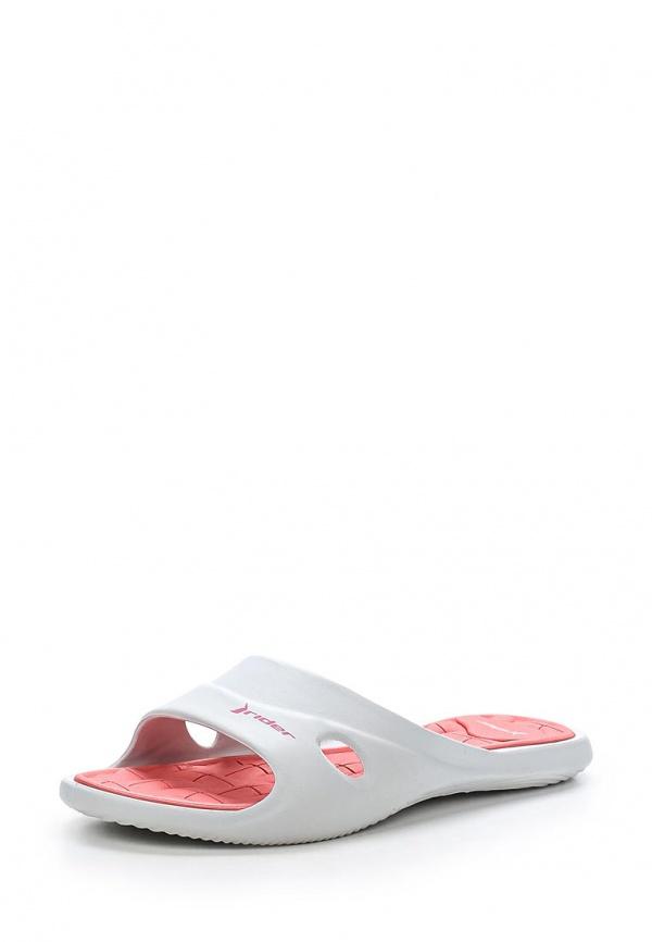 Сланцы Rider 81459-23464-A белые, розовые