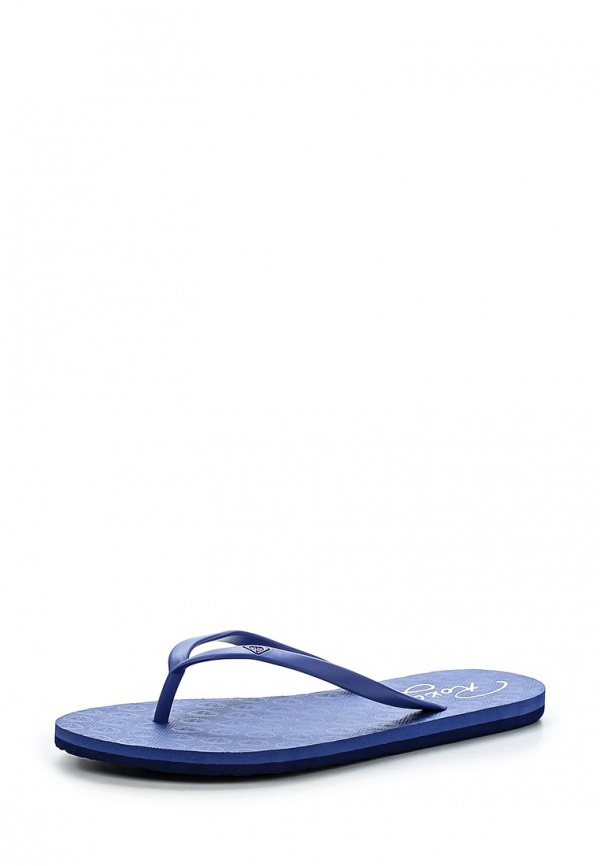 Сланцы Roxy ARJL100270 синие