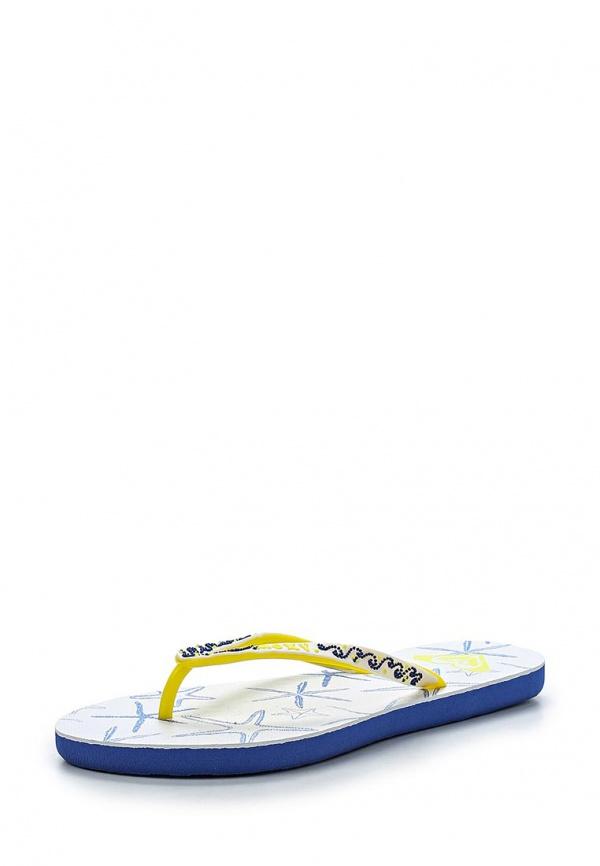 Сланцы Roxy ARJL100299 белые, жёлтые