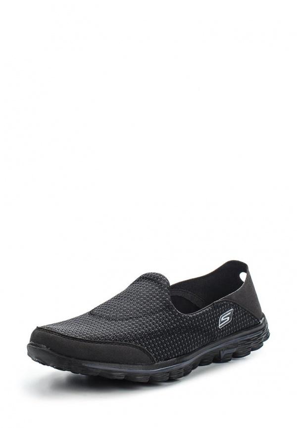Слипоны Skechers 13962 чёрные