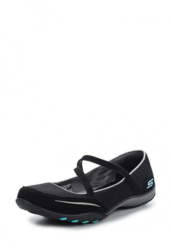 Балетки Skechers 22467 чёрные