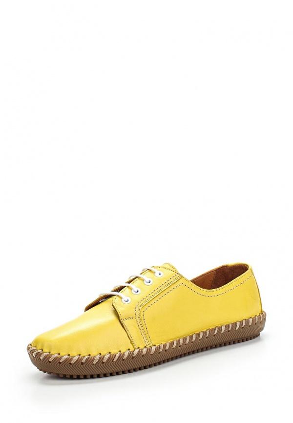 Полуботинки Spur 8TS_105590_LIMON SARI жёлтые