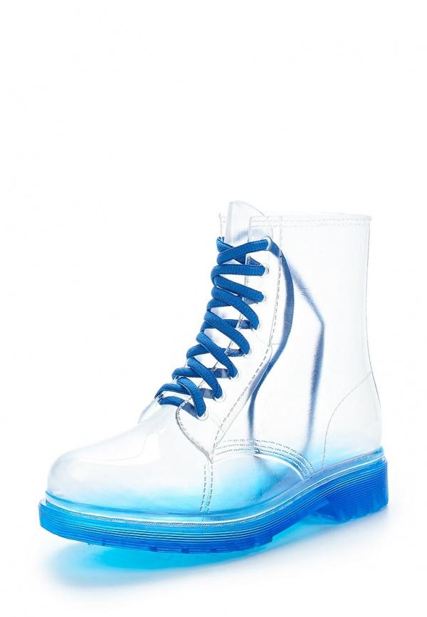 Ботинки Stephan 66-28 прозрачный, синие