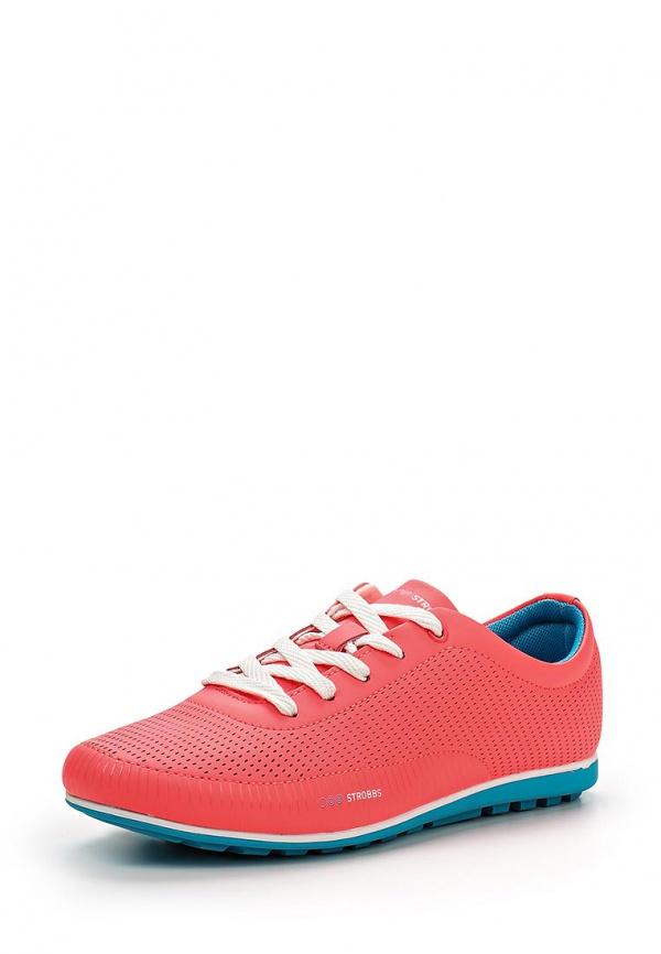 Кроссовки Strobbs F6282-11 голубые, розовые