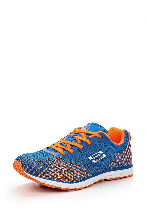 Кроссовки Strobbs F6286-22 оранжевые, синие