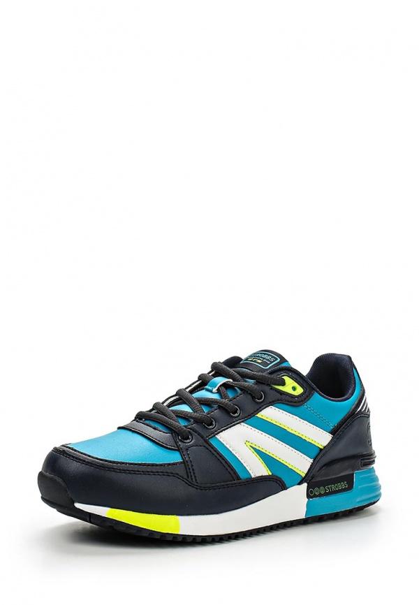 Кроссовки Strobbs F6255-13 голубые, синие