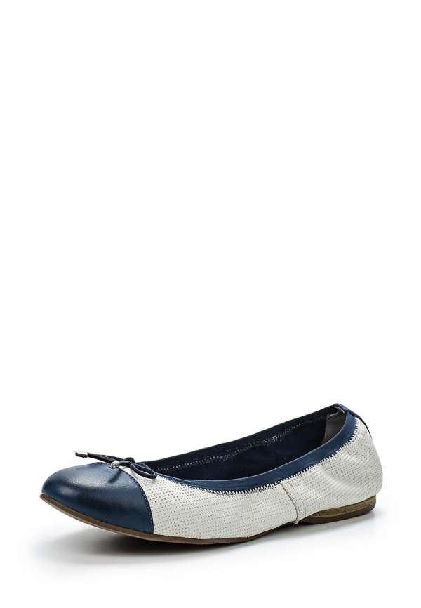 Балетки Tamaris 1-1-22129-24-185 белые, синие