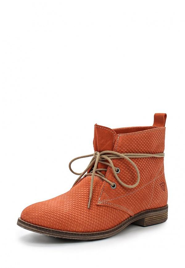 Ботинки Tamaris 1-1-25109-24-563 коралловый