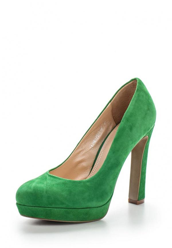Туфли Valley 541 601/2/218Р зеленые
