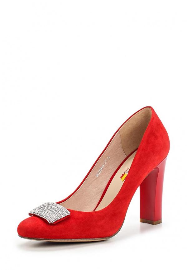 Туфли Evita EV15005-6-10V красные