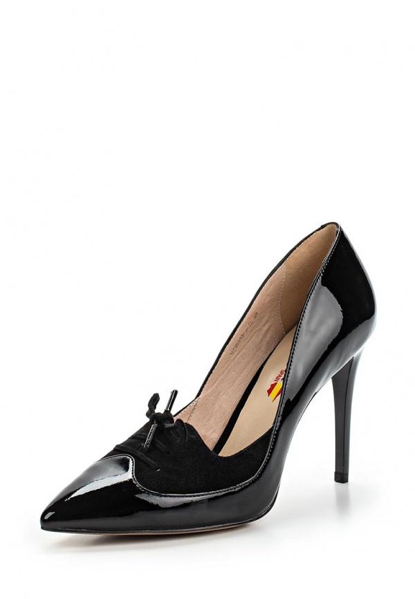 Туфли Evita EV15013-9-1L чёрные
