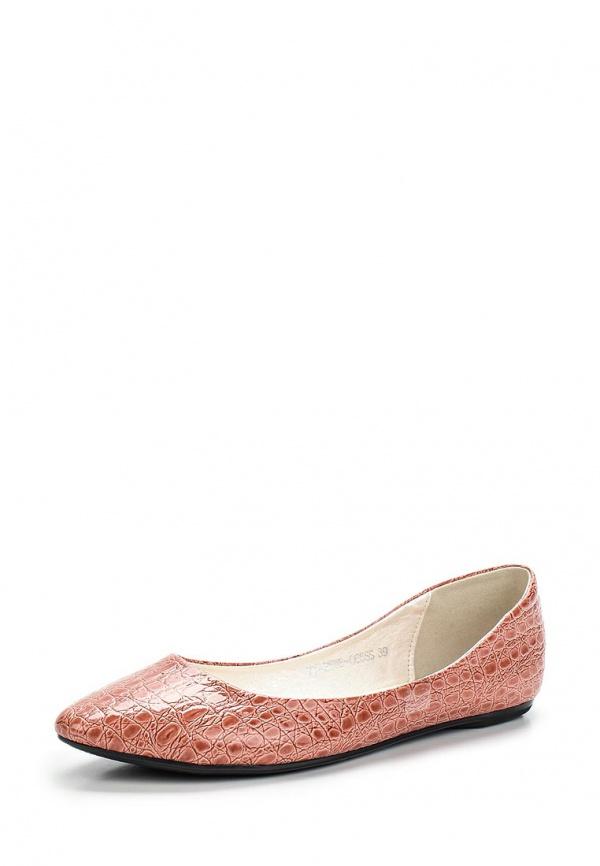 Балетки Instreet 77-25WE-066SS розовые