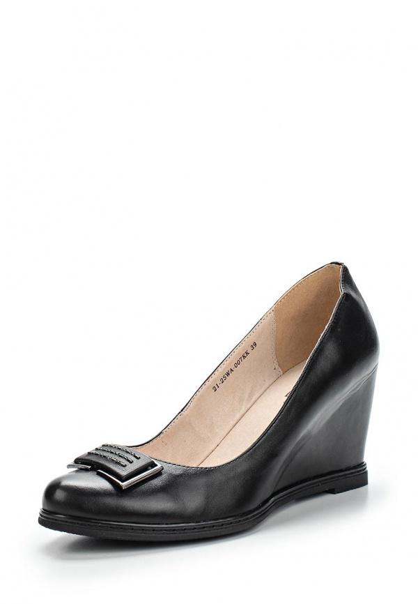 Туфли Zenden Woman 21-25WA-007KK чёрные