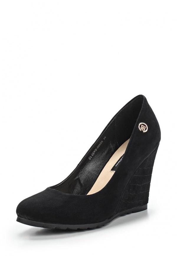 Туфли Zenden Woman 21-26WB-006BK чёрные