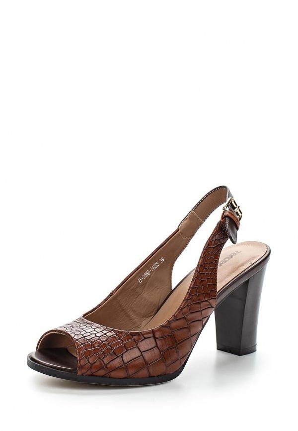 Босоножки Zenden Woman 25-25WB-142SS коричневые