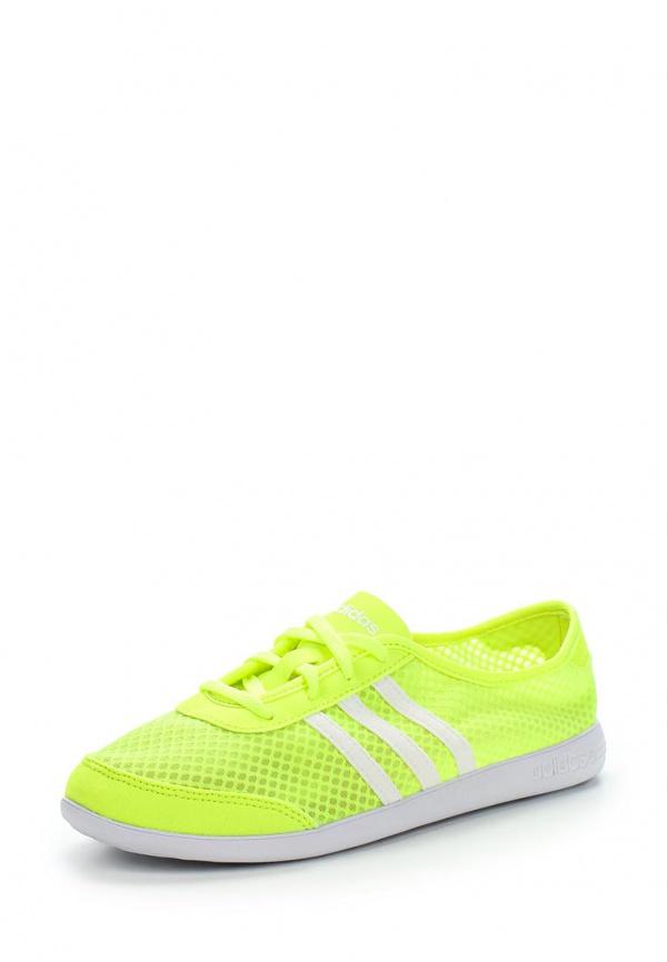 Кеды adidas Neo F97694 жёлтые
