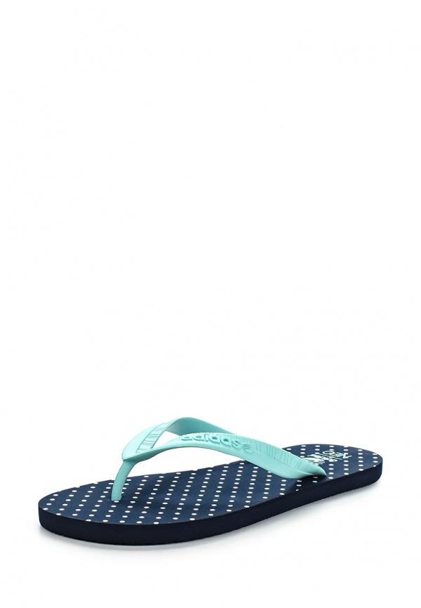 Сланцы adidas Neo F97704 голубые