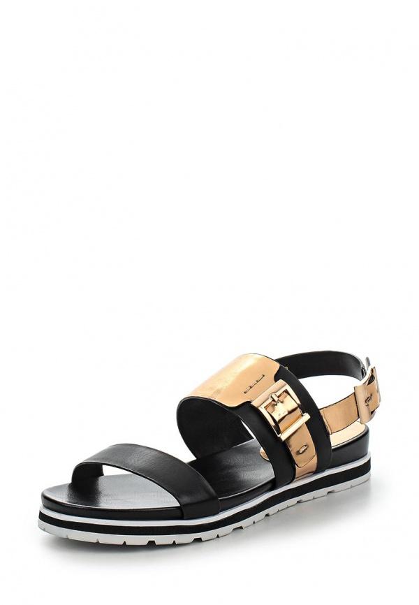 Сандалии Just Couture C6669S2-21 бронзовые, чёрные