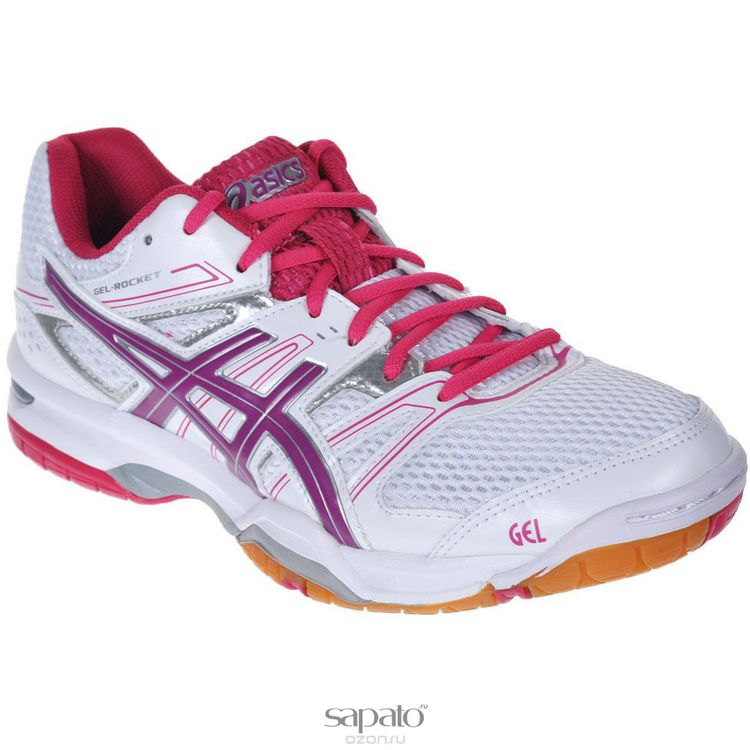 Кроссовки Asics Кроссовки женские для волейбола Gel-Rocket 7 розовые