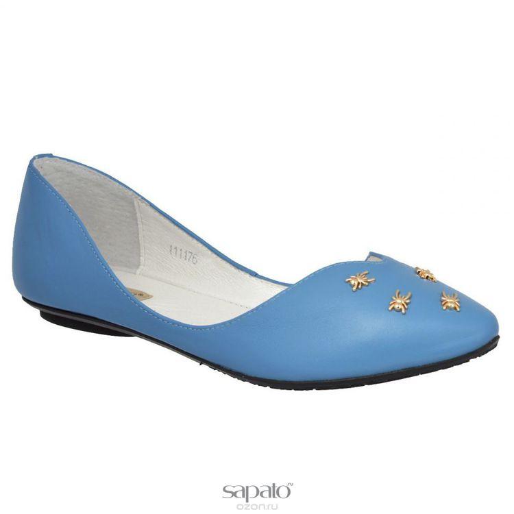Балетки Vitacci Балетки. 11117 голубые