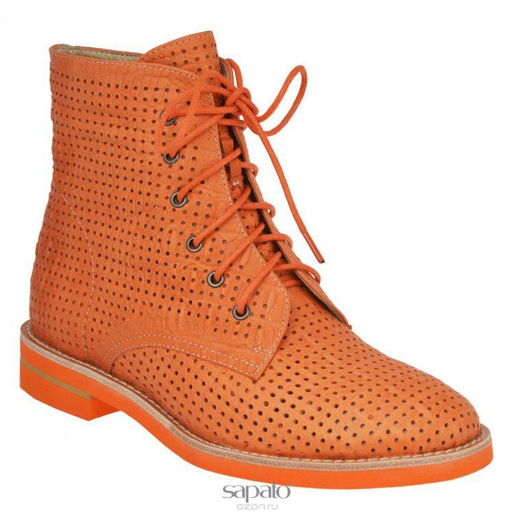 Ботинки Vitacci Ботинки женские. 4243 оранжевые