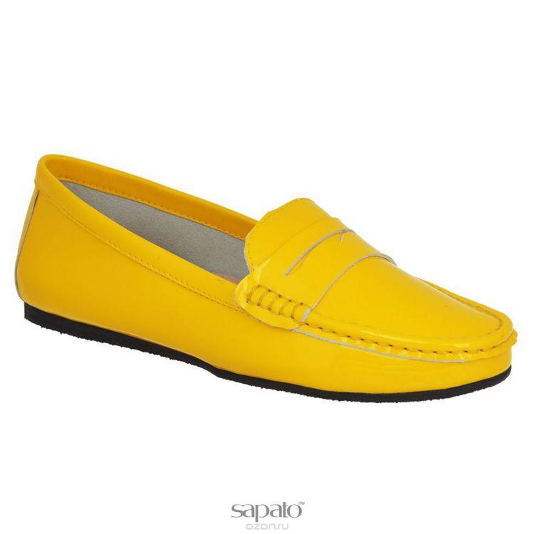 Мокасины Vitacci Мокасины женские. 11110 жёлтые