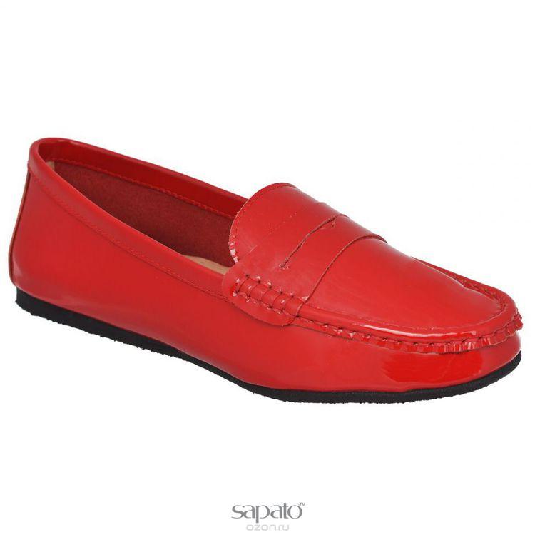 Мокасины Vitacci Мокасины женские. 11110 красные