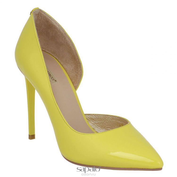 Туфли Vitacci Туфли женские. 7301 жёлтые