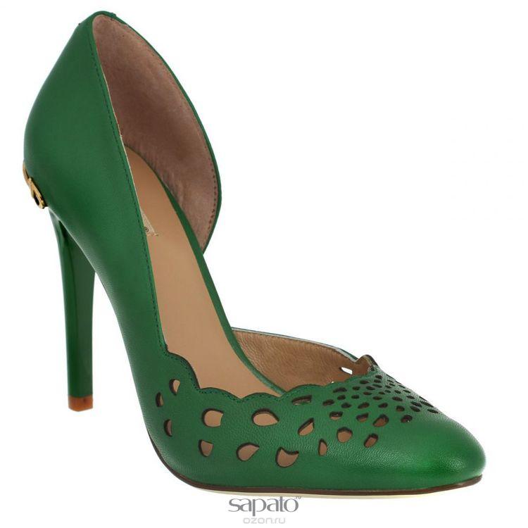Туфли Vitacci Туфли женские. 4341 зеленые
