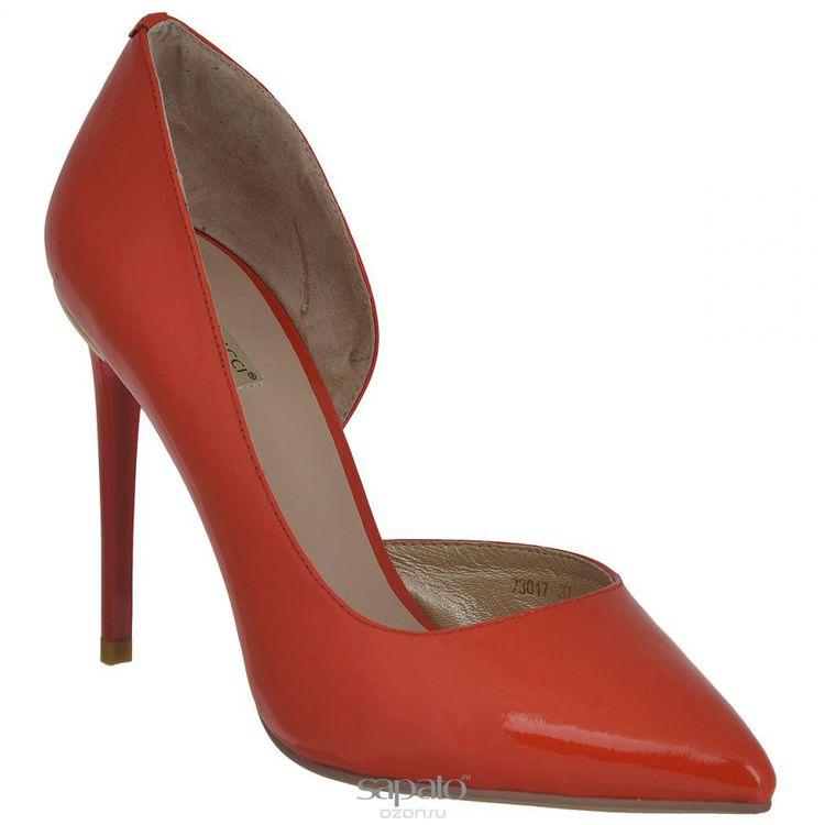 Туфли Vitacci Туфли женские. 7301 красные