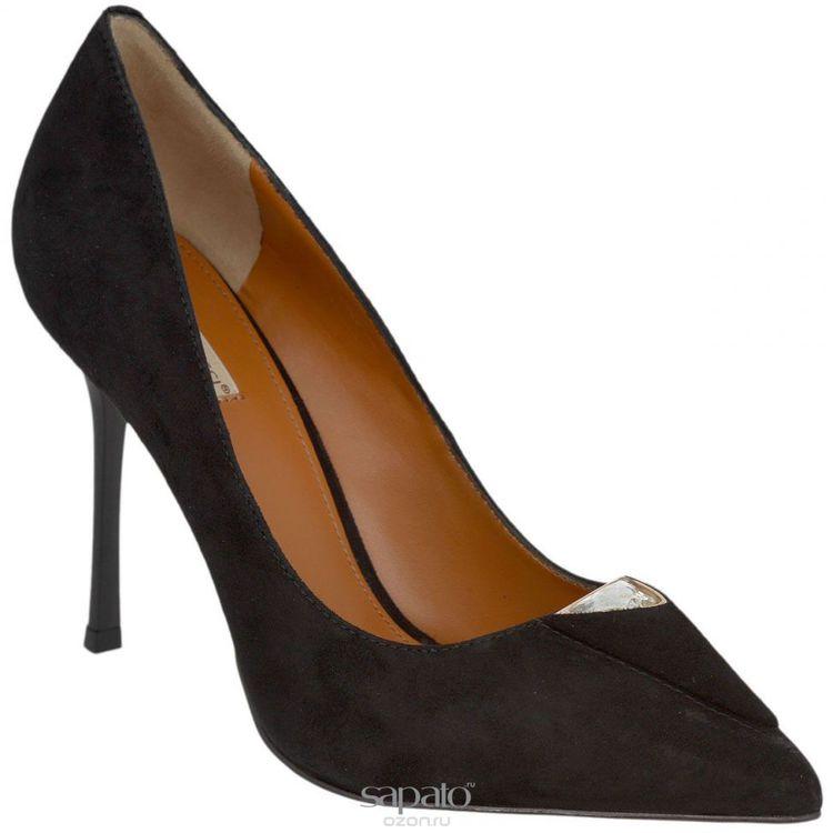 Туфли Vitacci Туфли женские. 59694 чёрные