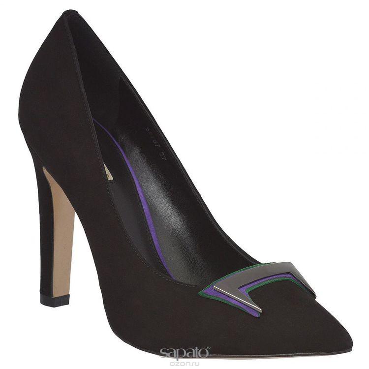 Туфли Vitacci Туфли женские. 59767 чёрные