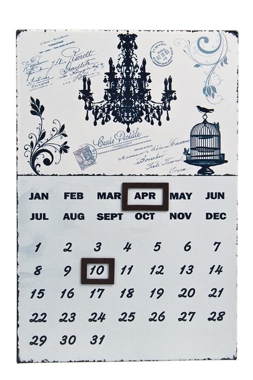"""Настольные календари Красный куб Календарь настенный """"Люстра"""""""
