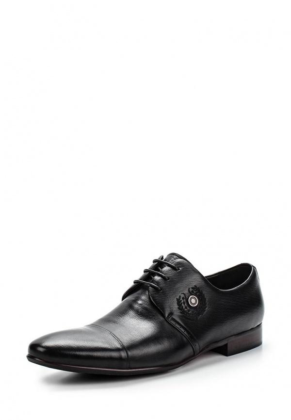 Туфли Patrol (Cornado) 320-813NK-15s-1-1 чёрные