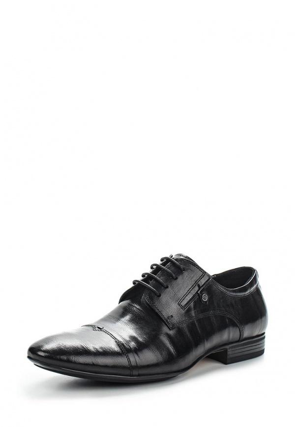 Туфли Patrol (Cornado) 347-559NK-15s-1-1 чёрные