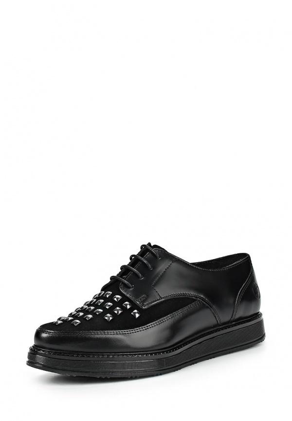 Туфли Bronx 65175-E-01 чёрные