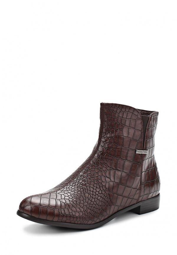 Ботинки Elche BW-W417012V коричневые
